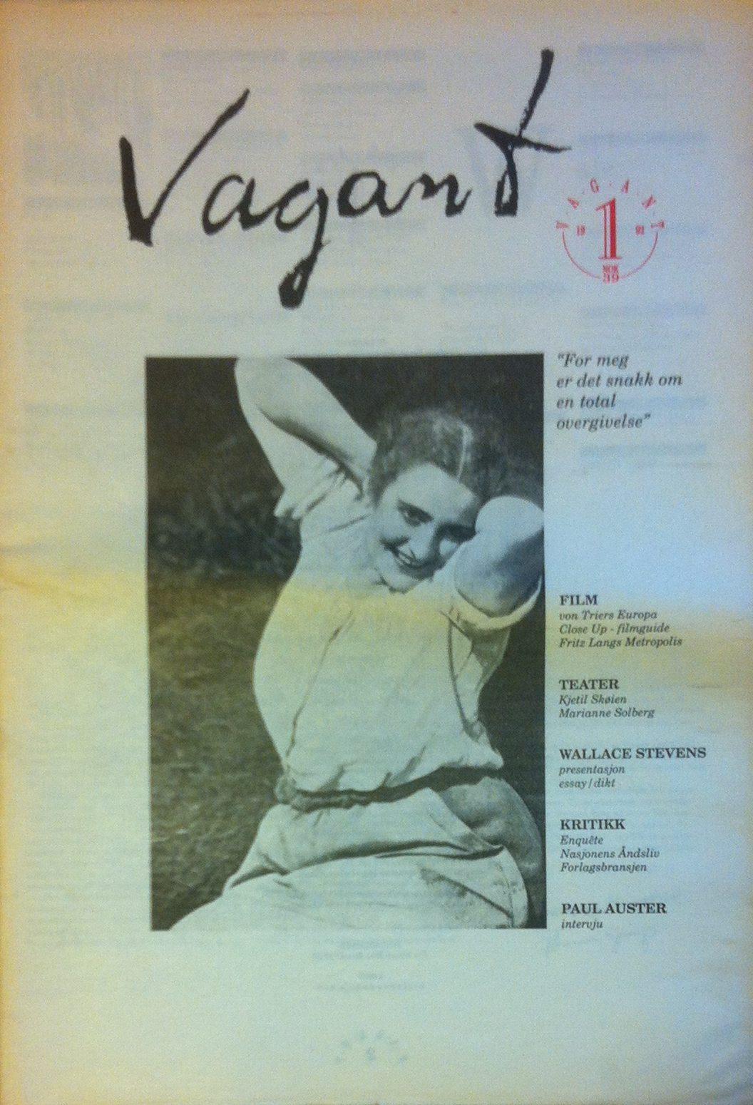 Vagant 1/1992