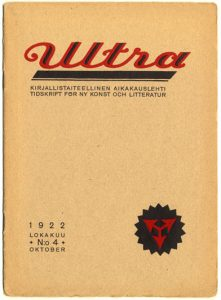 Forsiden til Ultra, 1922
