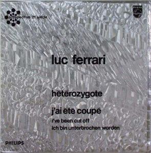 Luc Ferrari: Hétérozygote