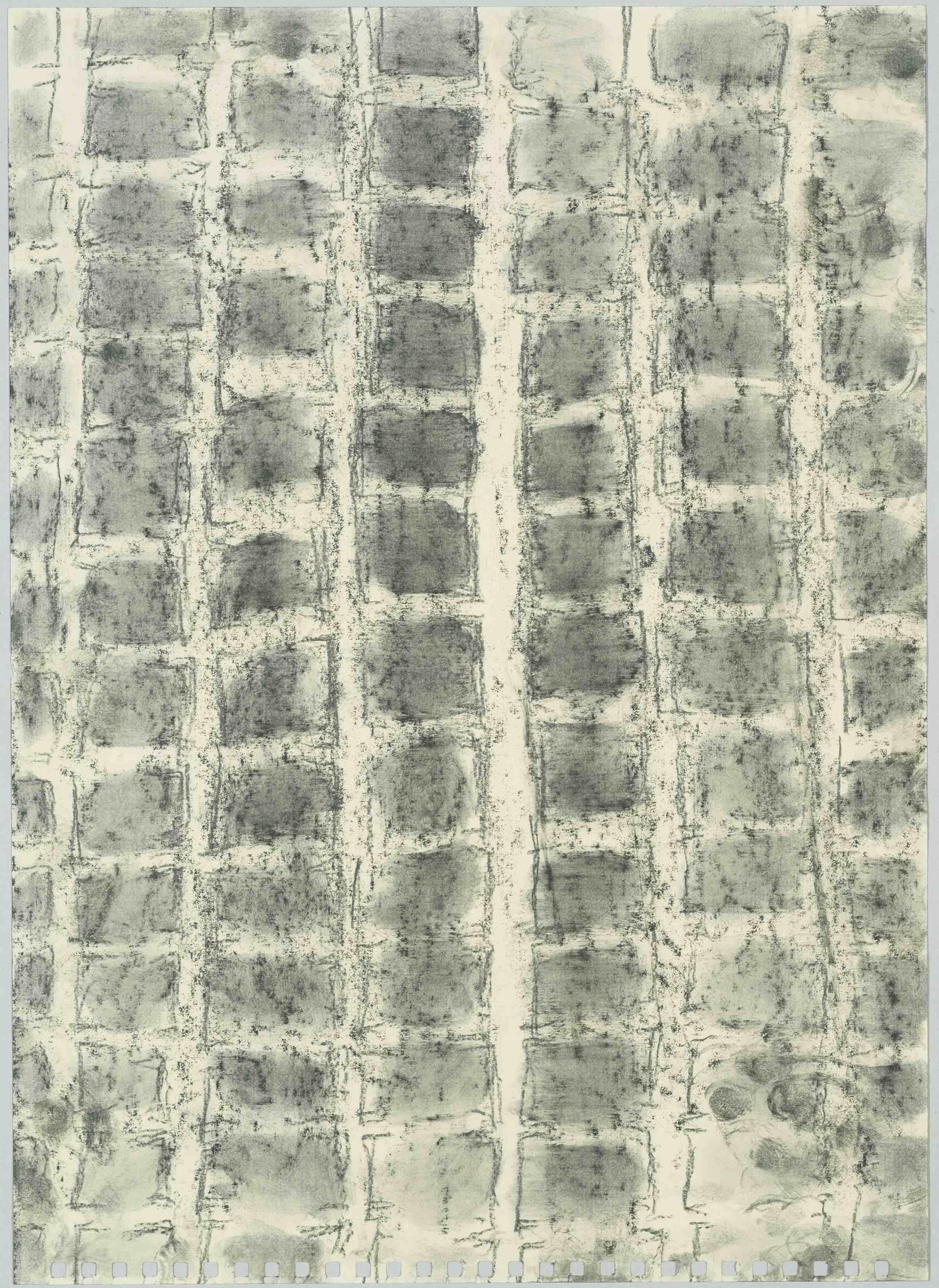 Linda Karshan: 9/3/00 (2), 2000 Bleistift auf Papier, 35,5 x 25,4 cm Sammlung Schering Stiftung im Kupferstichkabinett, Staatliche Museen zu Berlin © Bernhard Leitner / Volker-H. Schneider, Berlin/bpk