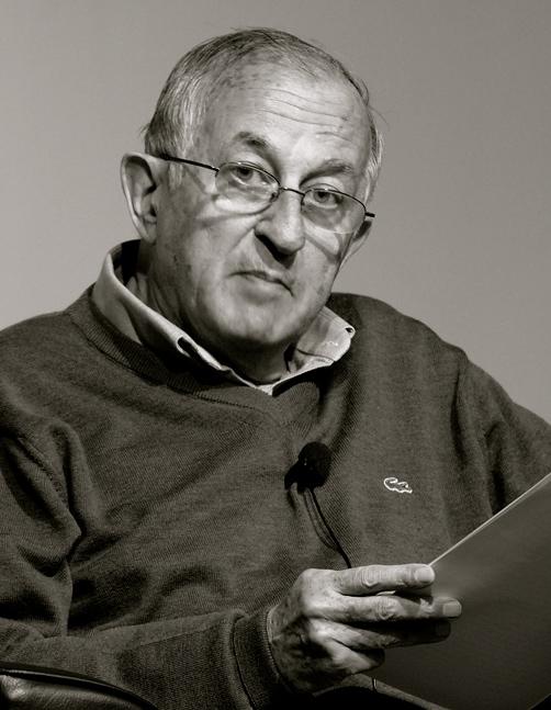 Juan Goytisolo (f. 1931) mottar Cervantes-prisen for 2014. (Foto: Peter Groth/ Wikimedia Commons)