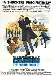 Joseph Sargent Colossus - The Forbin Project (1970)