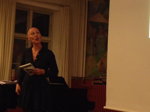 Kamilla Löfström om bogåret der gik. Foto: Gita Pasternak
