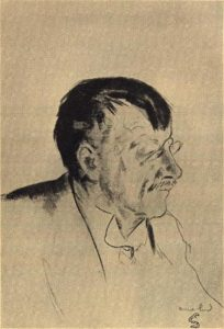 Nils Kjær. Fra omslaget til Episler (Gyldendal, 1949).