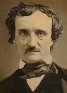 Edgar Allan Poe, 1849. Kilde. Wikimedia Commons.