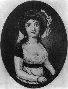 Elizabeth Arnold Poe. Kilde: Wikimedia Commons.