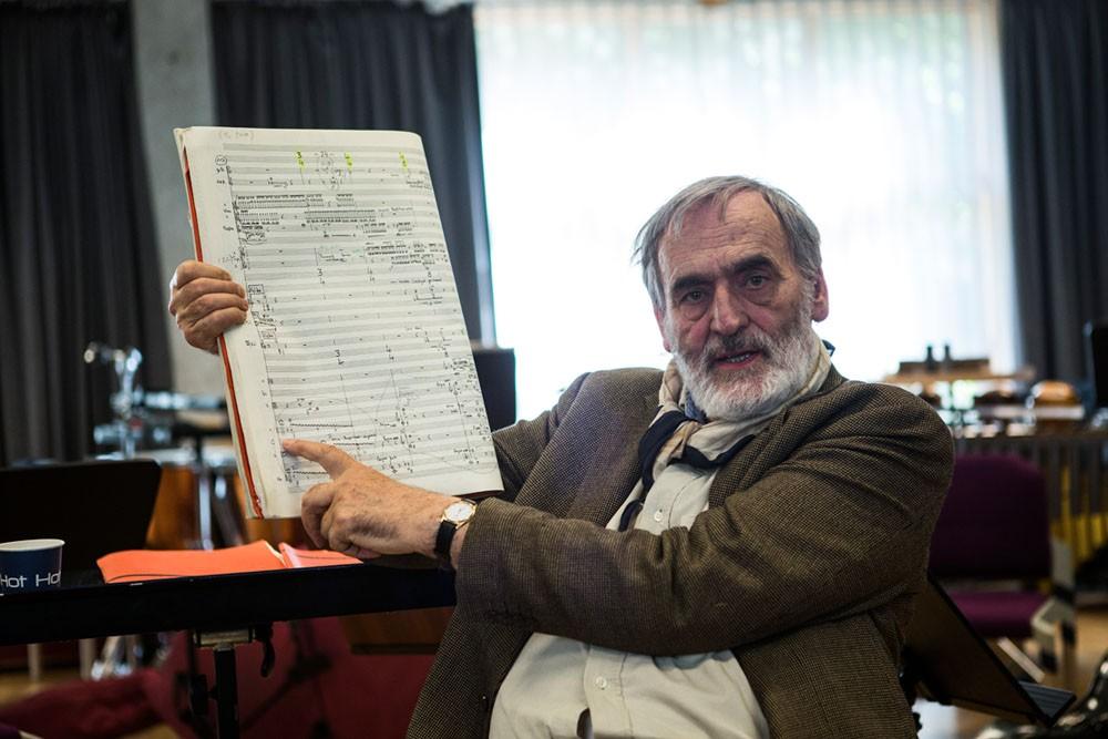 Helmut Lachenmann. Foto: Henrik Beck.