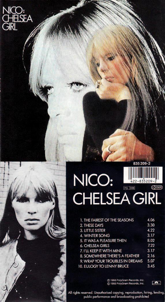Nicos Chelsea Girl (Velve Records, 1967).