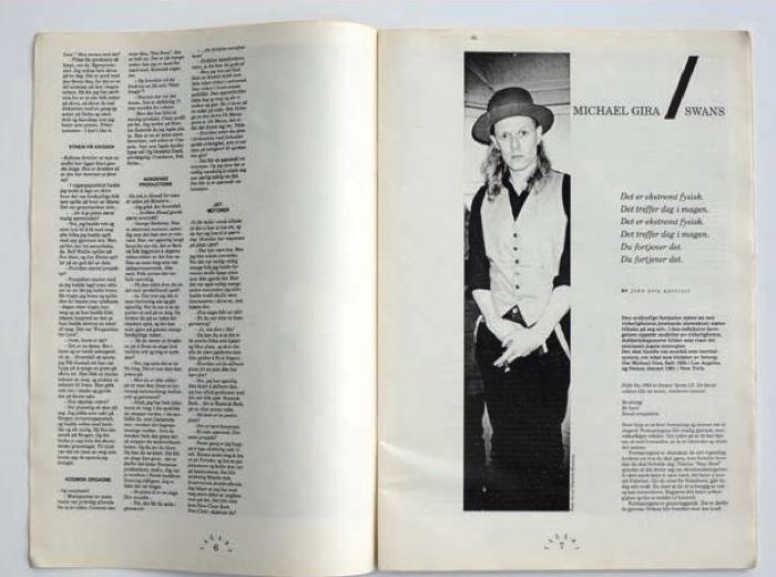 Faksimile fra Vagant 2/1991.