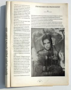 Faksimile av Vagant 4/1990.