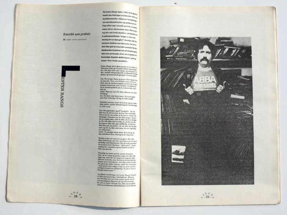 Faksimile av Vagant 2/1991.