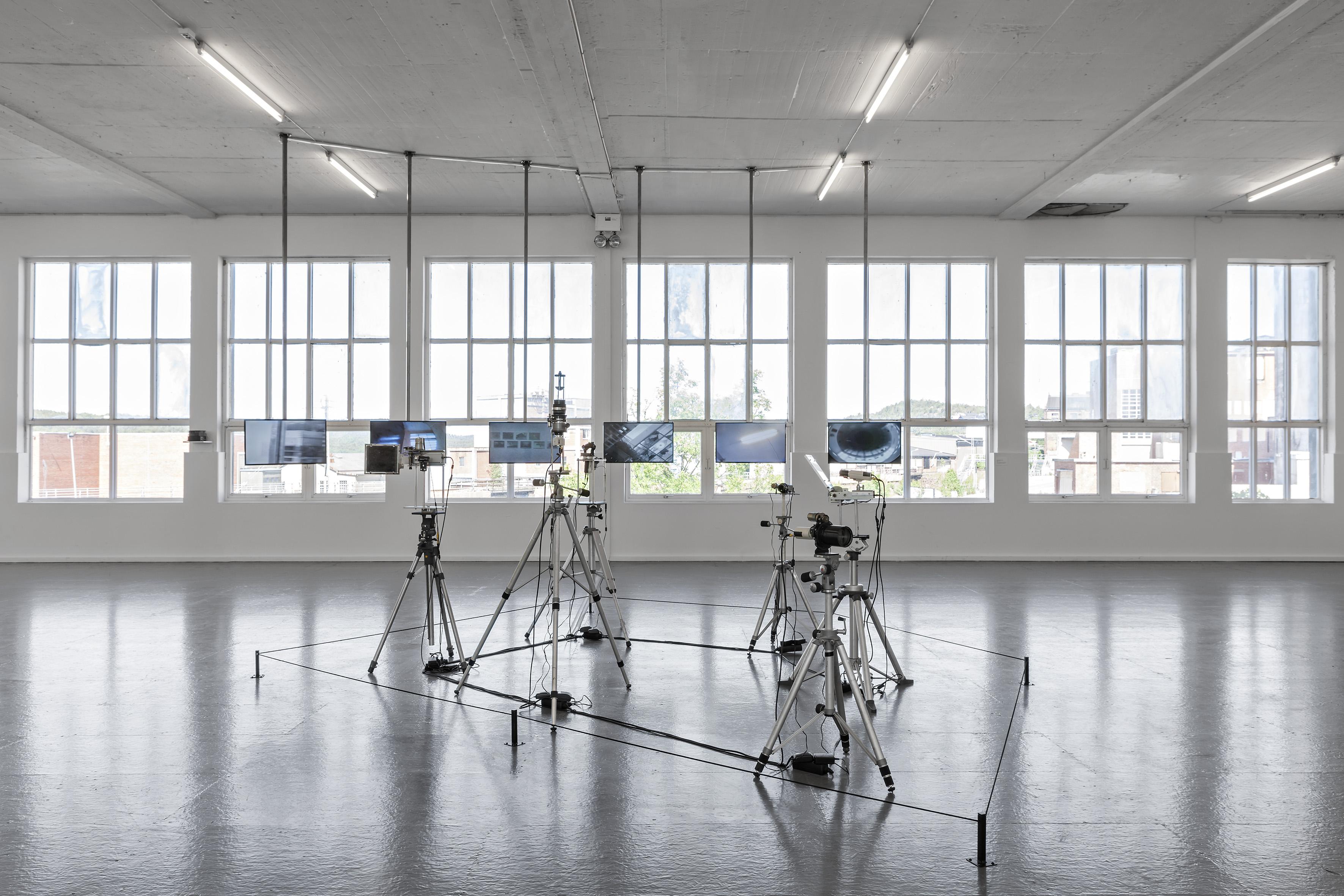 Steina Vasulka, Machine Vision (1978). Foto: Vegard Kleven.