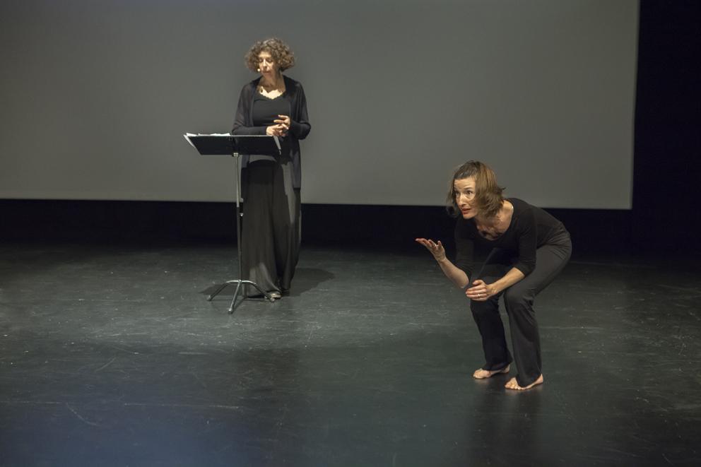 Esther Dischereit og Holly Handman-Lopez. Foto: Barbara Katzin
