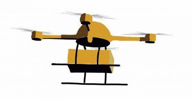 4Leveringsdrone