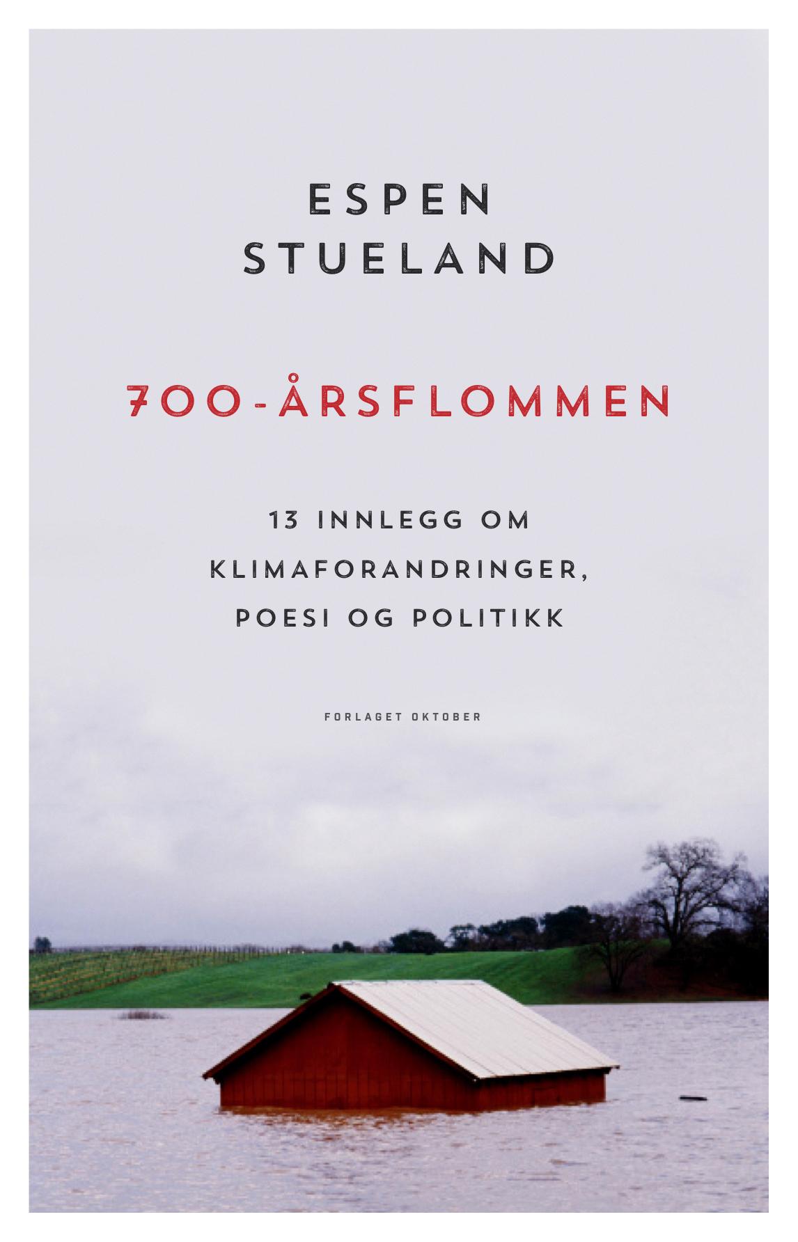 Espen Stueland, 700-årsflommen, Oktober forlag, 2016