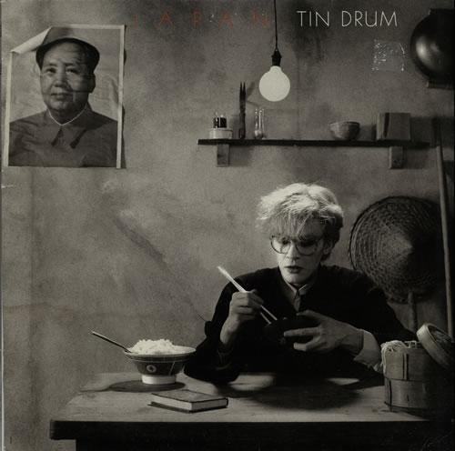 Japan, Tin Drum (1981). Omslagsfoto: Fin Costello