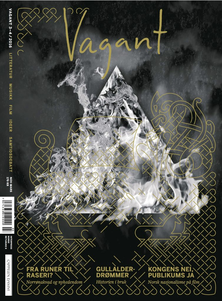 Vagant 3-4/2016. Design: Andreas Töpfer. Logo: Einar Selvik.