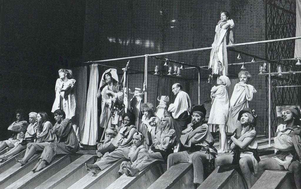 Marat/Sade, uppsatt vid Virginia Museum Theater 1969, i regi av Keith Fowler.