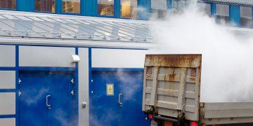 Transport av flytende nitrogen