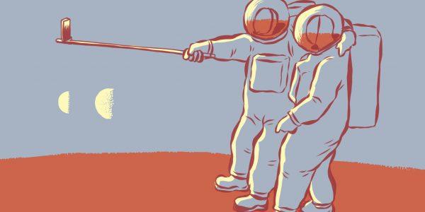 Morgenstemning på Mars